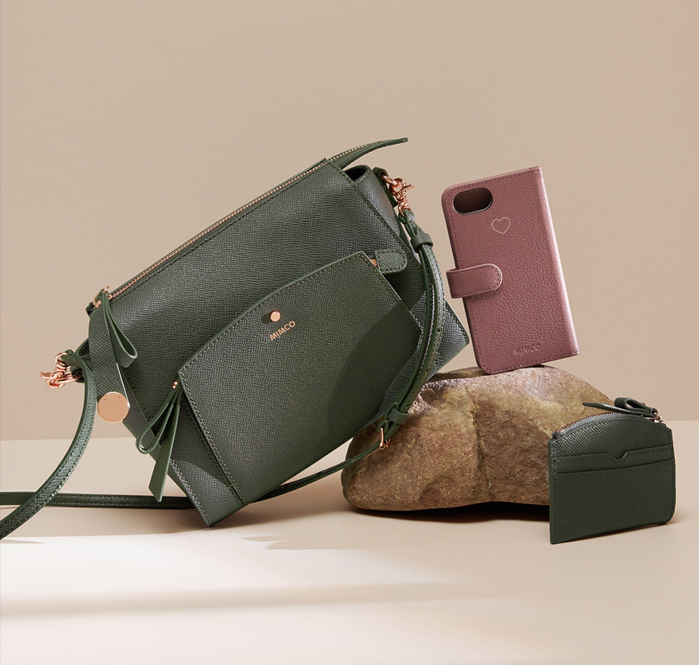 MIMCO bags in natural coloured leathers