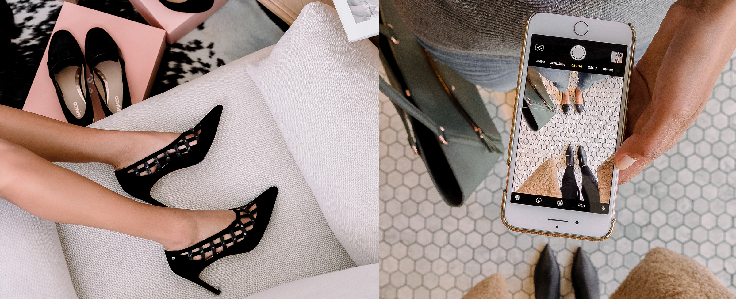 MIMCO #Shoefie campaign