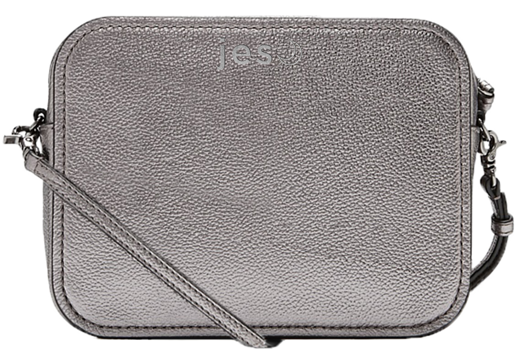 Silver Embossing Example on Hip Bag