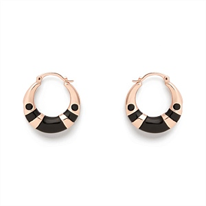 LUSTRE HOOP EARRINGS