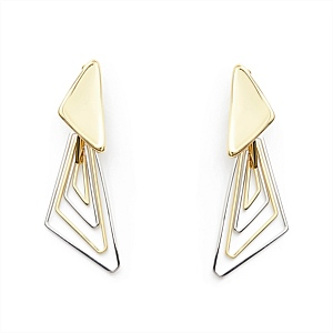 TESSELLATE DROP EARRINGS